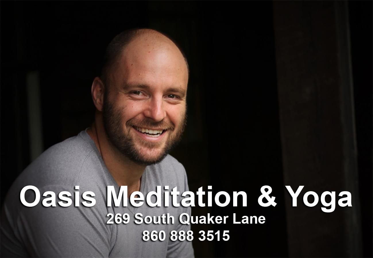 dustin, meditation, yoga, west hartford